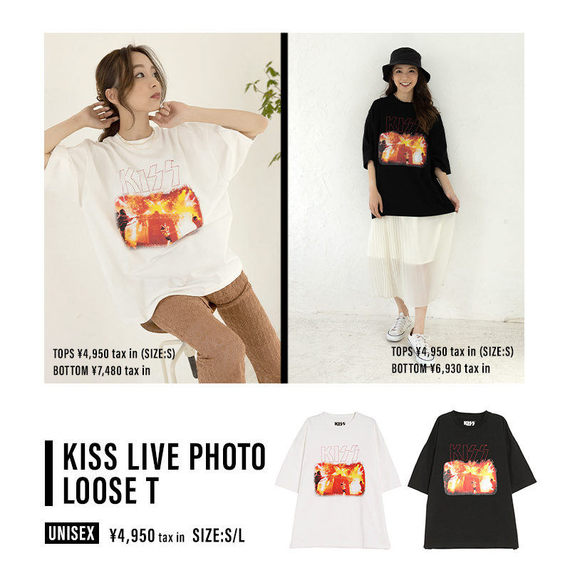 T-shirt Collection Vol.1 〜KISS T〜